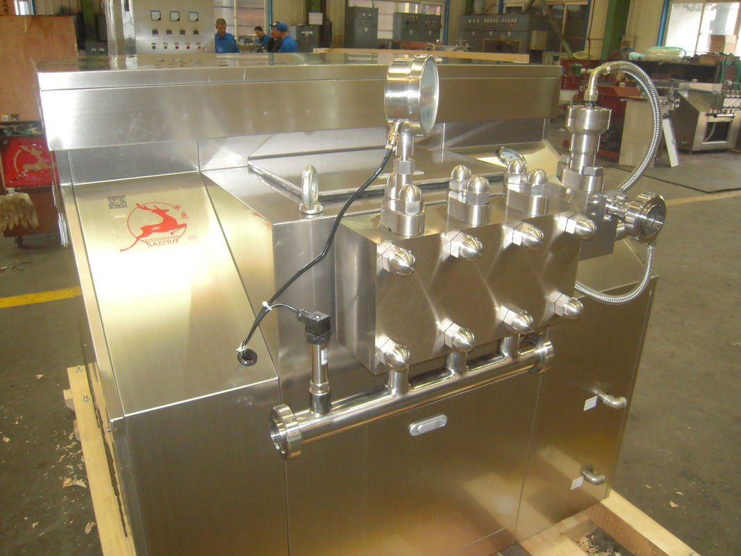 Custom Made High Pressure Homogenisation , Small Two Stage Homogenizer
